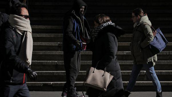 افزایش نرخ مرگ و میر بی خانمان ها در فرانسه