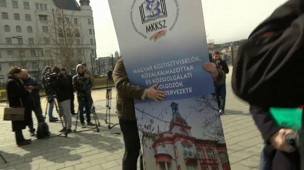 В Венгрии бастуют бюджетники