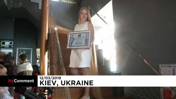 Киевская Рапунцель установила рекорд по длине волос