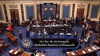 Le Sénat américain bloque le financement d'urgence du mur