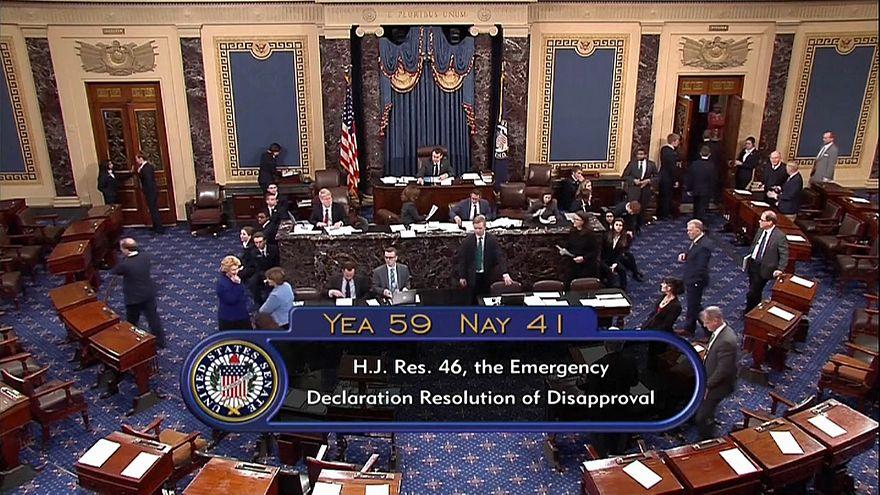 США: Сенат против Трампа