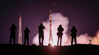 سه سرنشین سایوز با موفقیت به ایستگاه فضایی رسیدند