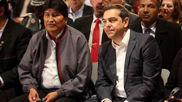 «Φίλε Έβο, οι χώρες μας μοιράζονται τις αξίες της ελληνικής επανάστασης»