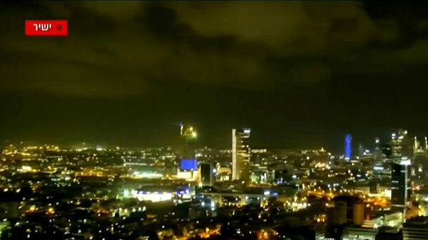 تل آویو/پایتخت اسرائیل در شب حمله موشکی
