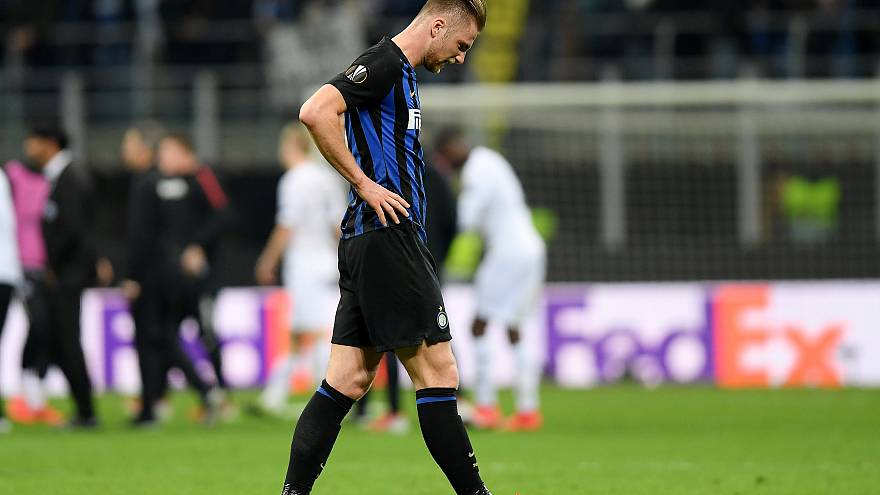 Europa League: Inter fuori, Napoli avanti con il fiatone