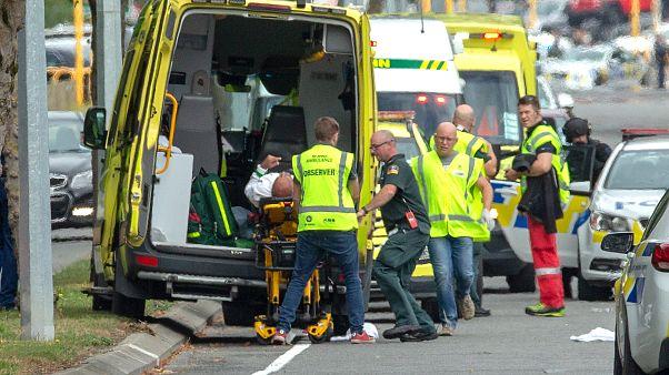 در حمله تروریستی به دو مسجد در نیوزیلند ۵۰ تن کشته شدند