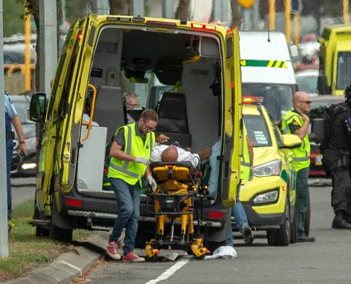 At Least 49 Dead, 48 Injured in New Zealand Mosque Shootings