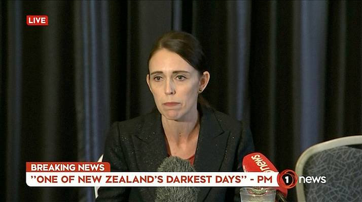 Armed Man Chased, Fired On New Zealand Mosque Shooter