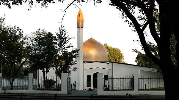 مسجد النور الذي شهد الهجوم في كرايست تشيرس النيوزلندية