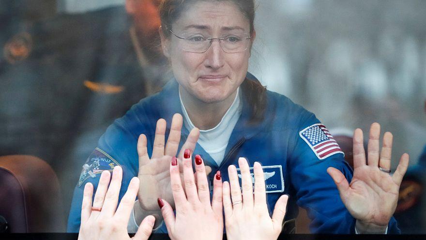 Mission réussie pour Soyouz, premier voyage spatial pour Christina Koch