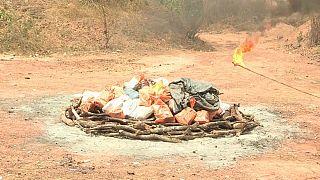 Maior apreensão de droga de sempre na Guiné-Bissau