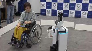 Tokió 2020: robotok segítik a paralimpikonokat