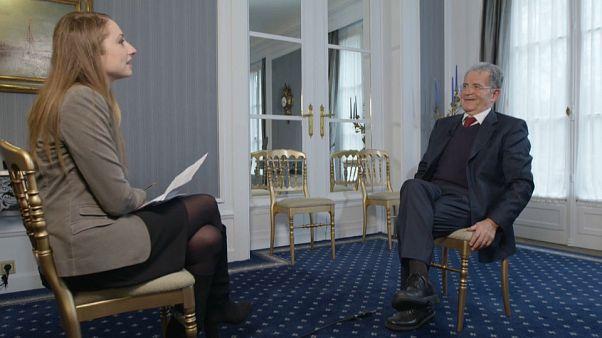 """""""Vemos um Reino Unido dividido e uma Europa unida"""", diz Romano Prodi"""