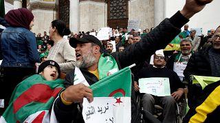 تظاهرات جمعه ۱۵ مارس در الجزیره