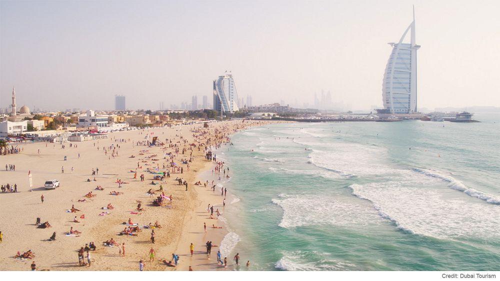 Добро пожаловать на пляжи Дубая