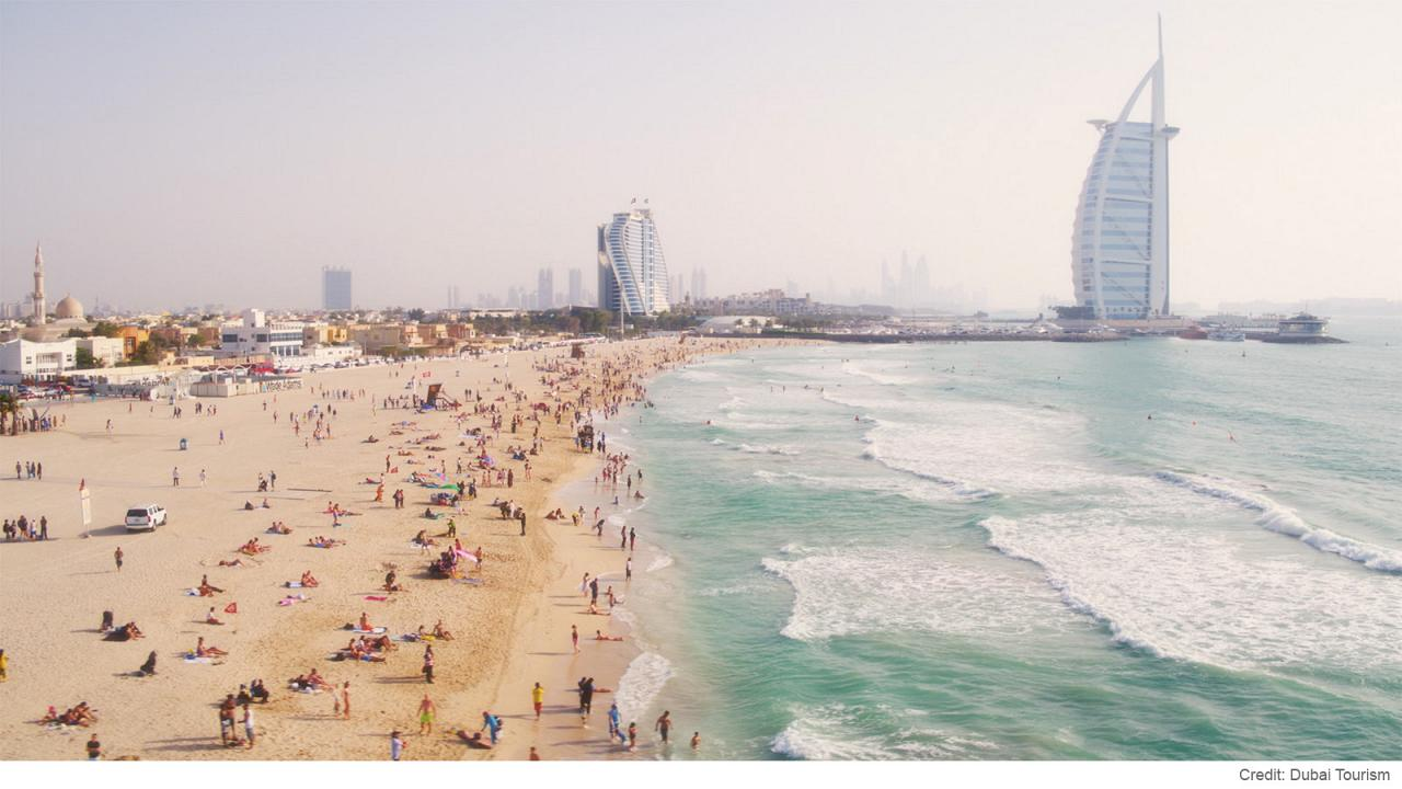 Dubai's best beaches: where to play and surf in the famous seaside city