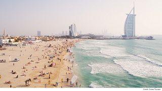 در سواحل تفریحی دوبی چه خبر است؟
