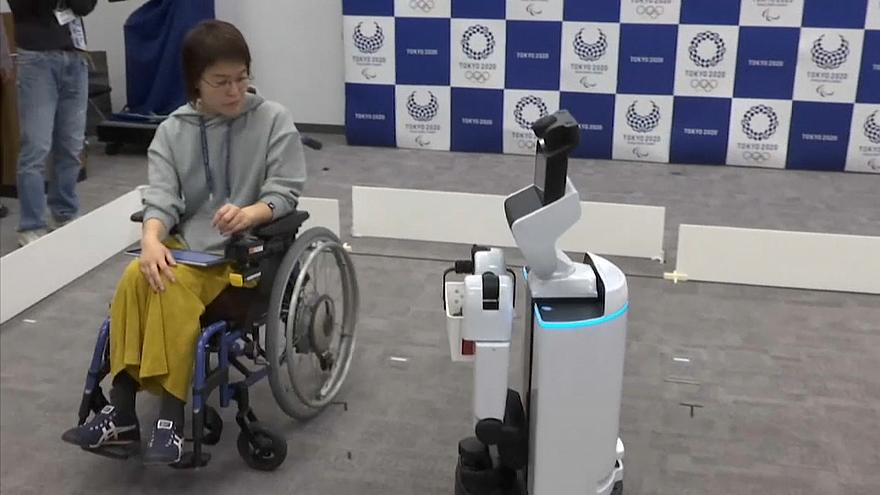 Tokio 2020: Unterstützung durch Roboter