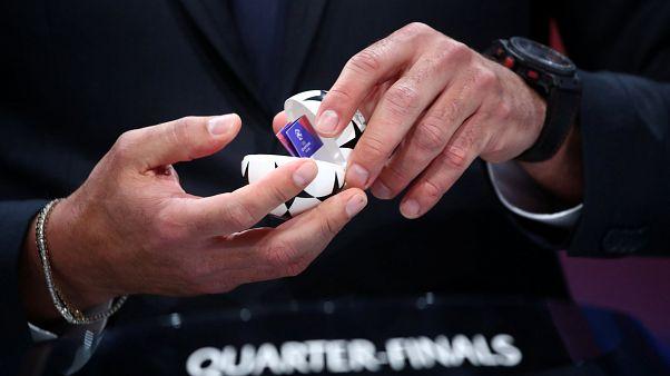 Определились пары 1/4 финала Лиги чемпионов