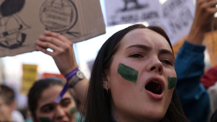 Estudiantes de todo el mundo se movilizan contra el cambio climático