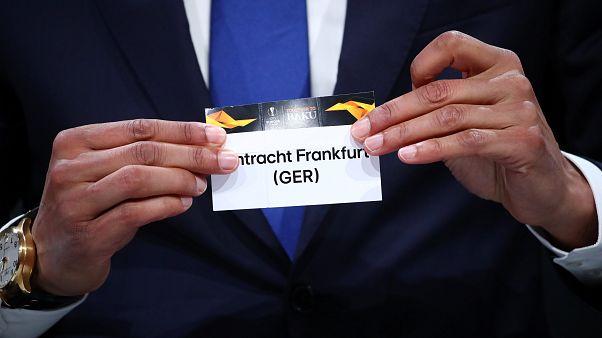 Eintracht Frankfurt trittt im Viertelfinale der Europa League auf Benfica