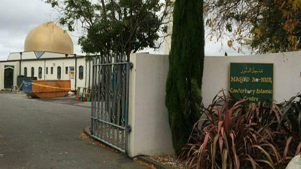 مسجد النور بمدينة كرايستشيرش في نيوزيلندا حيث وقع الاعتداء