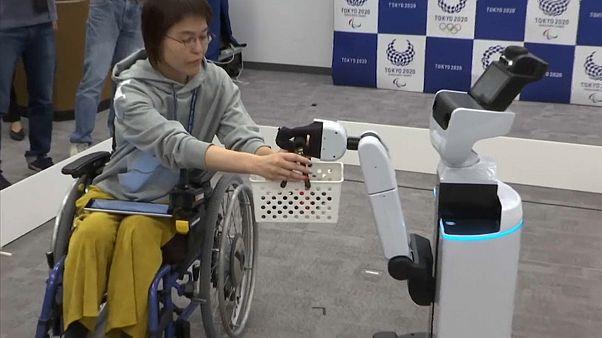 Ρομπότ στους Ολυμπιακούς Αγώνες του Τόκιο!