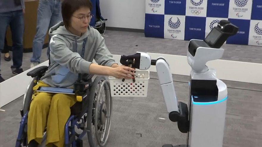 Tokyio 2020: Robot alle Olimpiadi