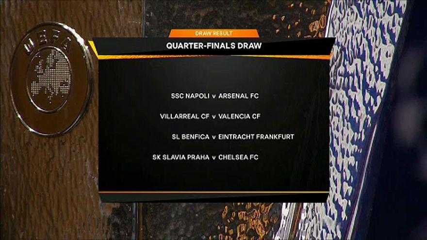 Arsenal–Napoli az Európa-ligában
