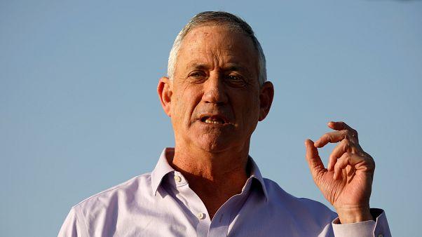 İsrailli asker kökenli siyasetçi Benny Gantz