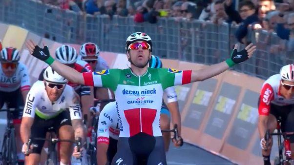 """Tirreno-Adriatico: Elia Viviani in forma """"Sanremo"""""""