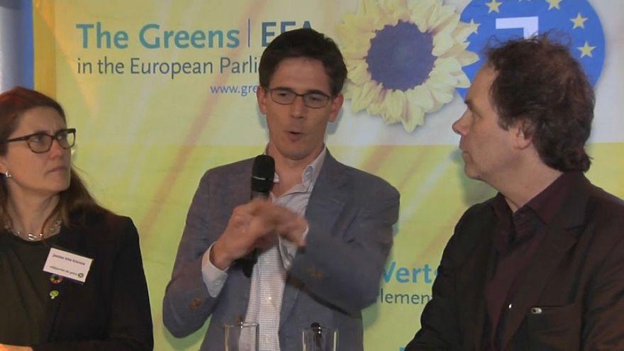 Elkezdték az európai kampányt a Zöldek