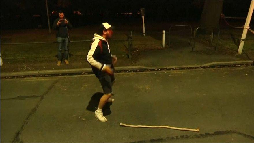 Strage di Christchurch, intensa danza Haka davanti alla moschea