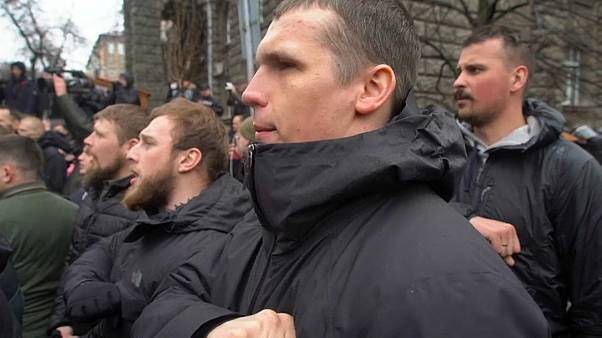 متظاهرون من اليمين المتطرف في أوكرانيا