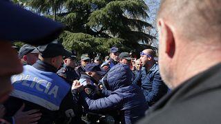 Αλβανία: Μαζική διαδήλωση κατά της κυβέρνησης Ράμα