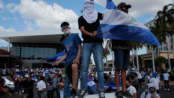 Dozens arrested in Nicaragua anti-government protests