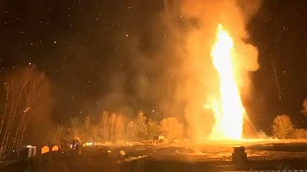 Valami nagy, nagy tüzet raktak Lustenauban
