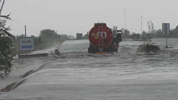Violento ciclone sul Mozambico, morti e dispersi