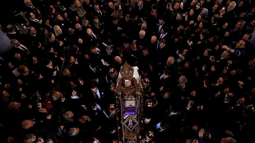 Turkey's Armenian Christians mourn Patriarch Mesrob