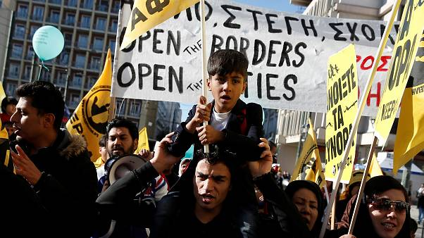 Αθήνα: Πορεία κατά του ρατσισμού και του φασισμού