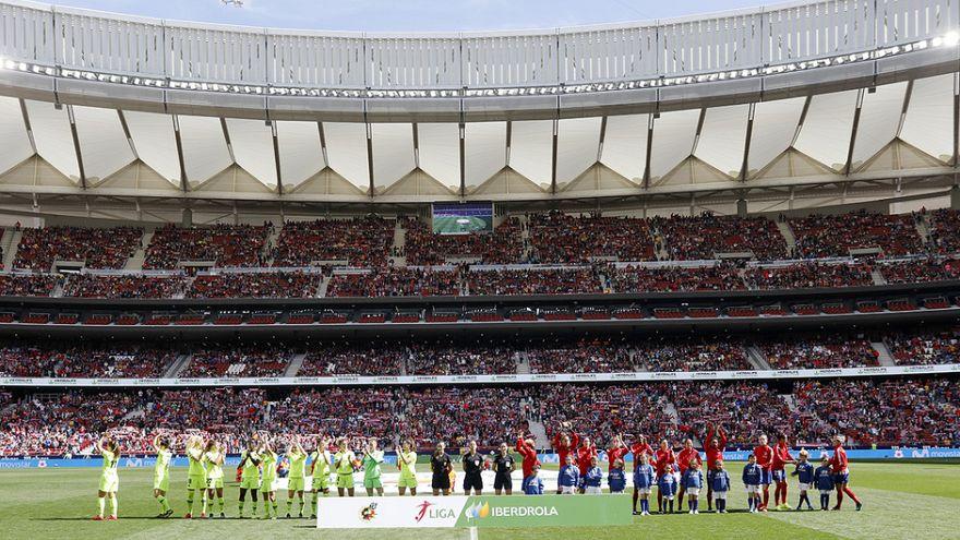 Calcio femminile: 60mila persone per Atletico-Barcellona