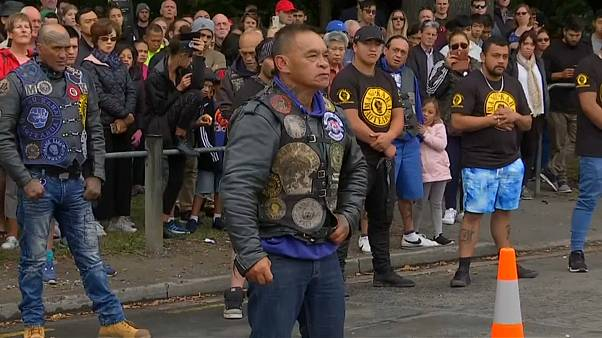 "Motards homenageiam vítimas de Christchurch com ""haka"""