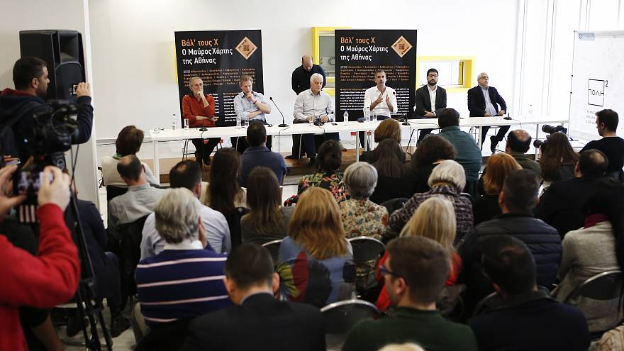 Debate υποψηφίων δημάρχων της Αθήνας για ρατσισμό και μεταναστευτικό