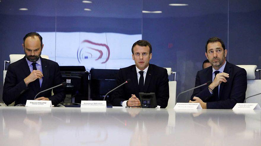 Cellule de crise du ministère de l'Intérieur à Paris, 16/03/2018