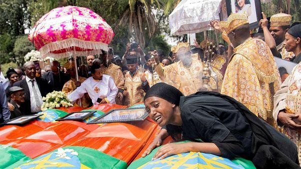 Церемония прощания в Эфиопии