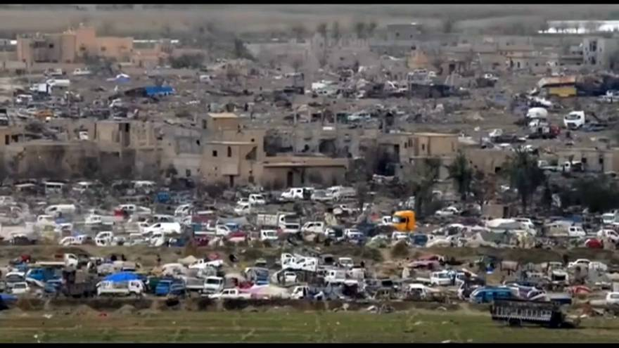 Al-Baghus: Mehr als 60.000 Menschen aus letztem IS-Ort in Syrien geholt