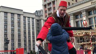 Rússia celebra anexação da Crimeia com festival