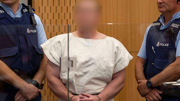 برينتون تارنت منفذ هجوم نيوزيلندا الإرهابي ماثلاً أمام المحكمة