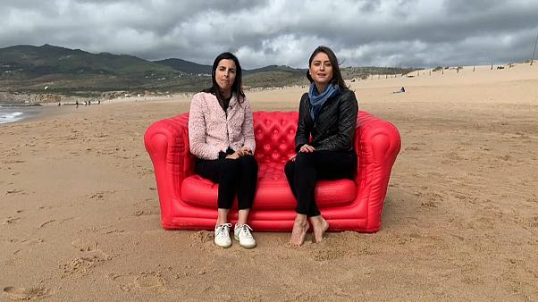 Anelise Borges and Filipa Soares