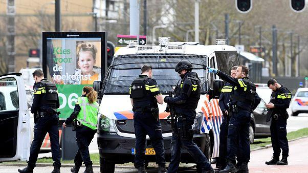 Hollanda'nın Utrecht kentinde silahlı saldırı